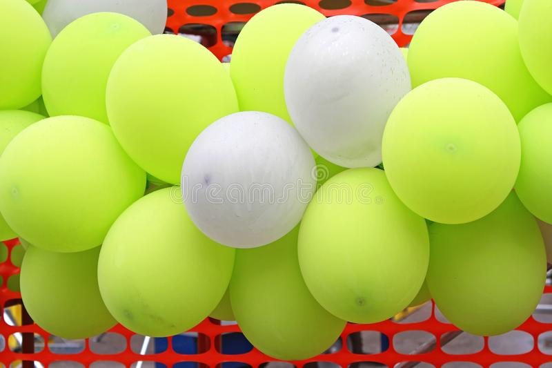 Воздушные шары латекса стоковое фото rf