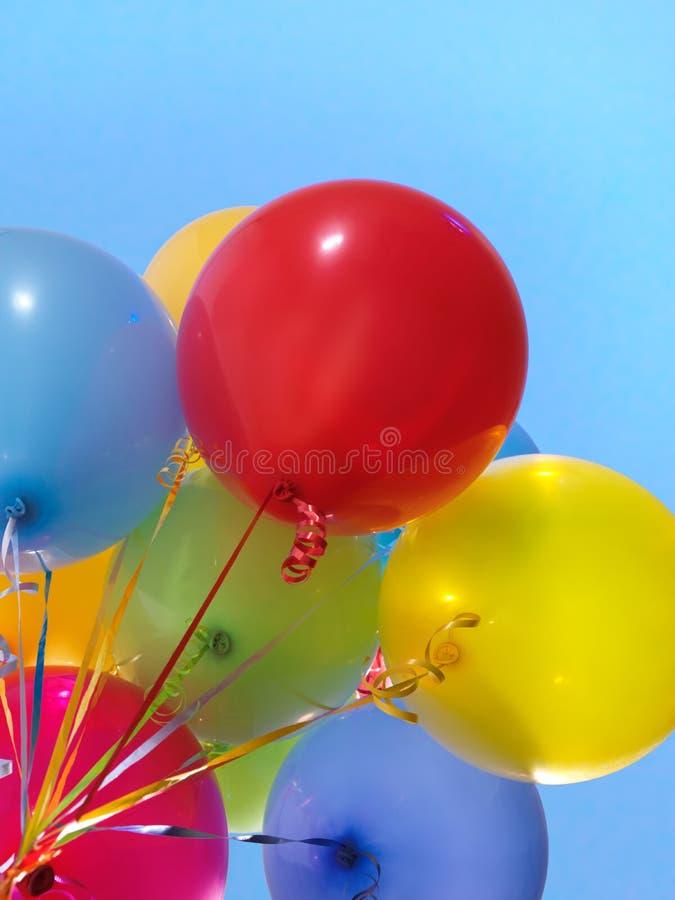 воздушные шары цветастые стоковые фото