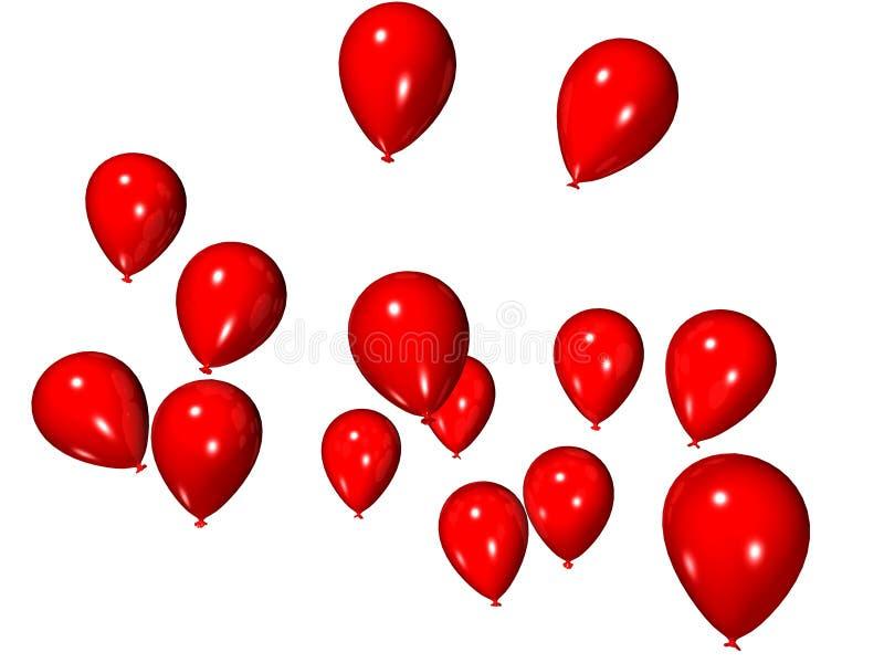 Download воздушные шары иллюстрация штока. иллюстрации насчитывающей bluets - 1194396