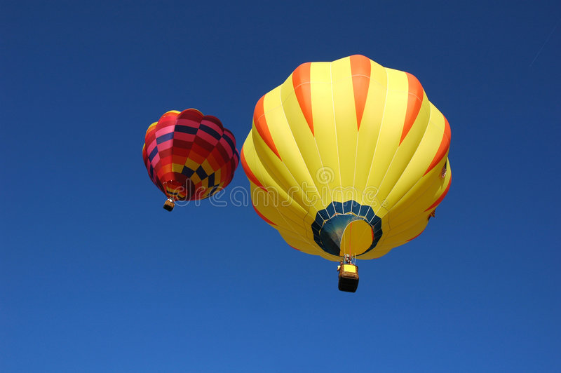 воздушные шары 2 стоковое изображение