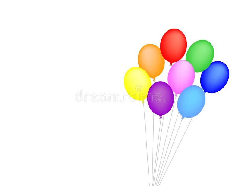 воздушные шары бесплатная иллюстрация