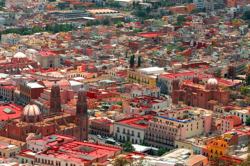 воздушные zacatecas стоковое фото rf