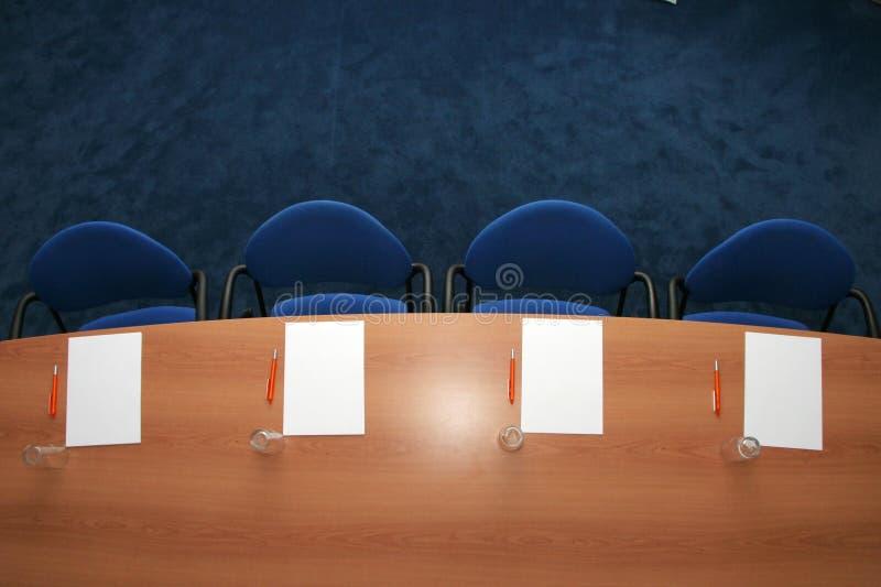 воздушный взгляд конференц-зала стоковое фото