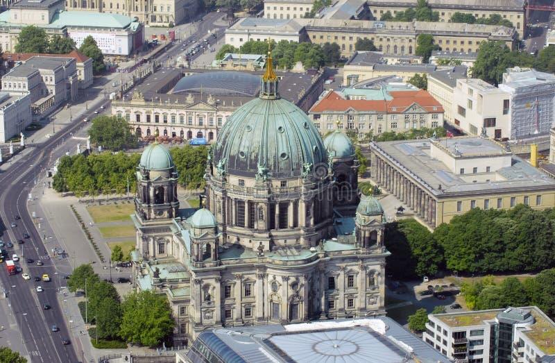 воздушный взгляд berlin стоковые фото