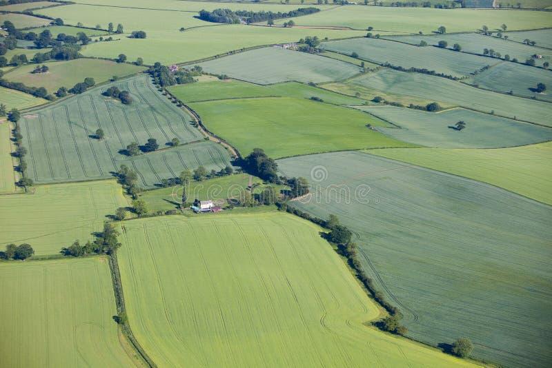 воздушный ландшафт стоковая фотография