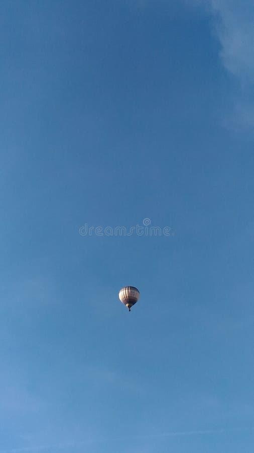 Воздушный шар неба стоковое изображение rf
