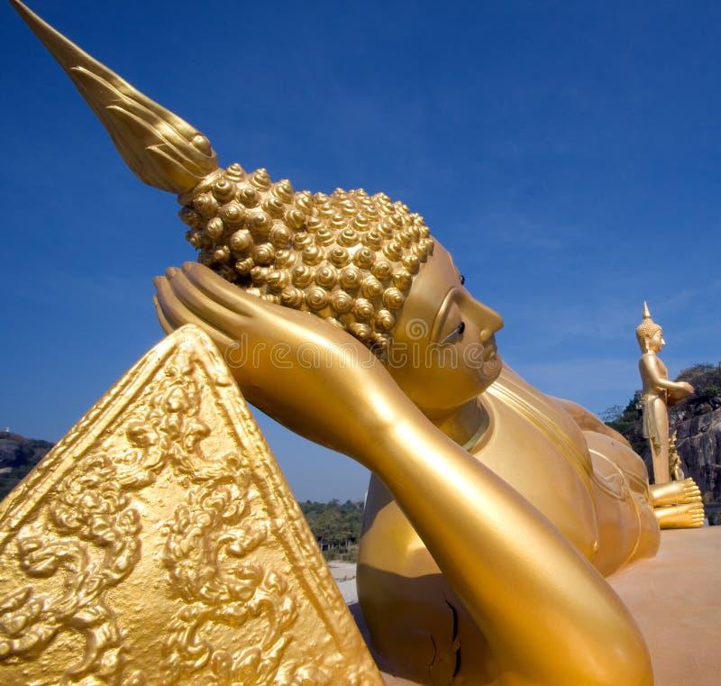 возлеубежать Будды тайский стоковые изображения