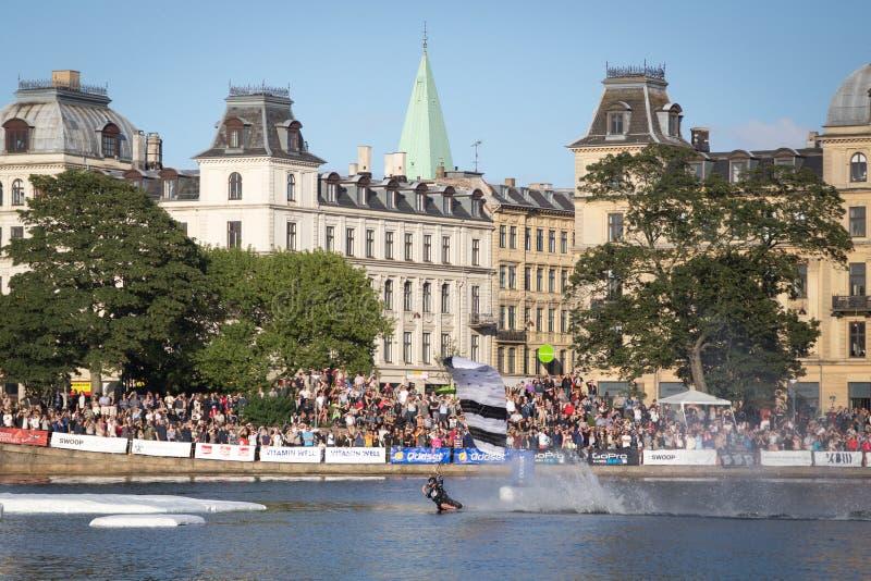 Возможность Копенгаген 2016 налёт стоковое изображение rf