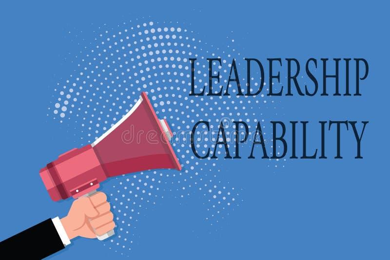 Возможность руководства текста сочинительства слова Концепция дела для какой руководитель может построить емкость привести эффект бесплатная иллюстрация