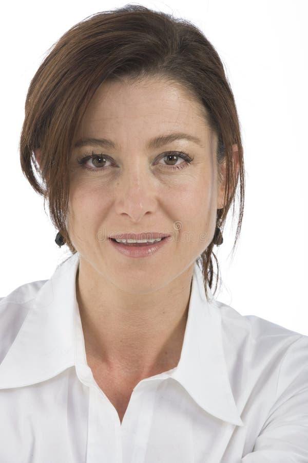 Download возмужалая женщина портрета Стоковое Изображение - изображение насчитывающей resplendent, светяще: 6863839