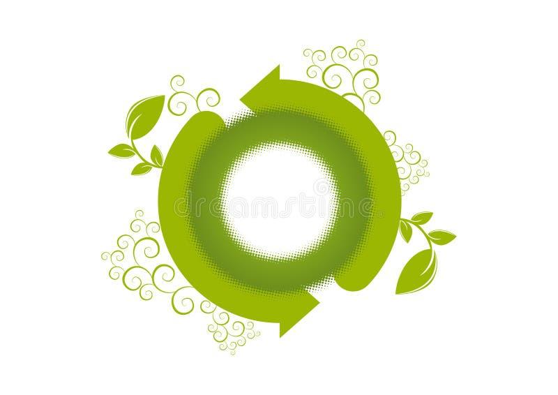 возобновление логоса окружающей среды иллюстрация вектора