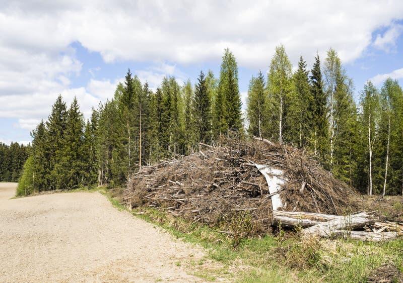 Возобновляющая энергия в Финляндии стоковые фото