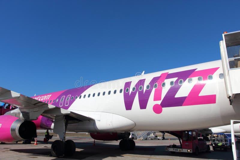 Воздух Wizz стоковое изображение rf
