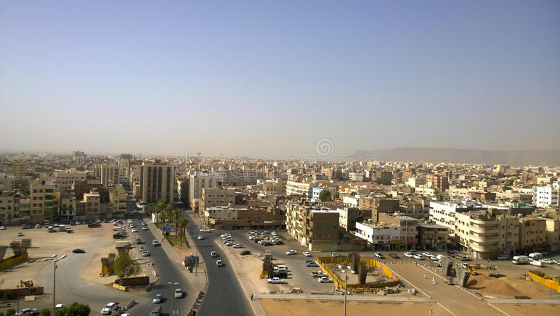 Воздушная съемка Medina стоковые фото