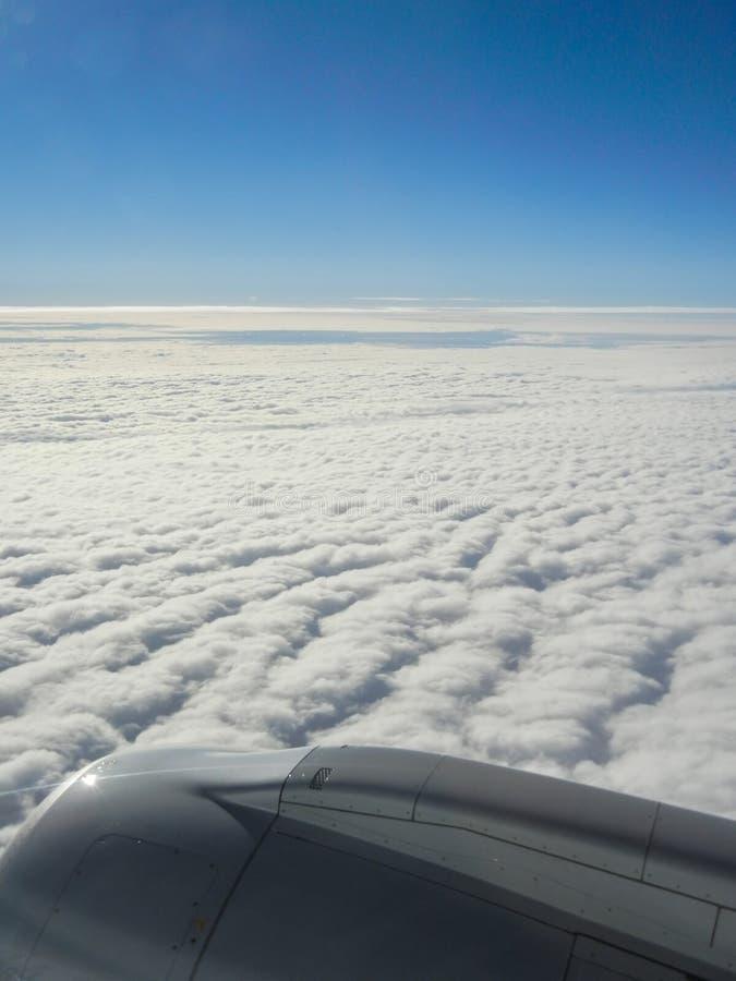 Воздушное путешествие. стоковые изображения rf