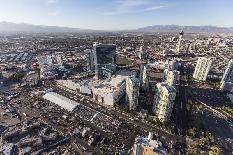 Воздушные башни Лас-Вегас Невады стоковые фотографии rf