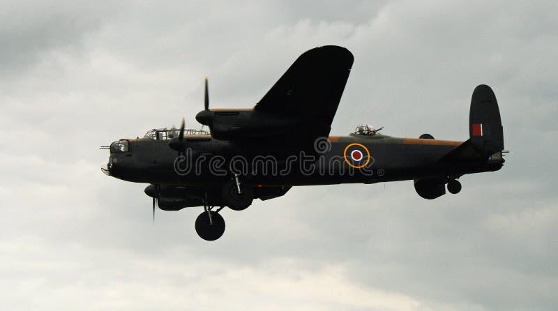 Воздушные судн бомбардировщика Вторая мировой войны стоковое изображение