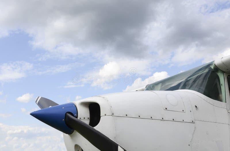 Воздушные судн один двигателя стоковые изображения rf
