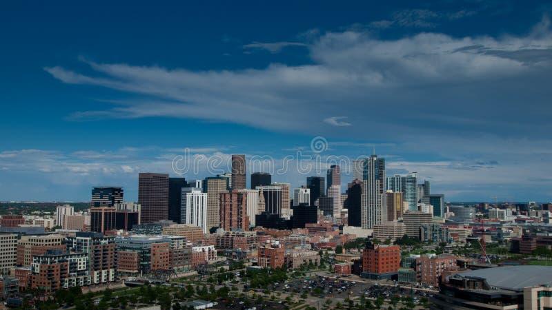 воздушный взгляд denver стоковая фотография rf