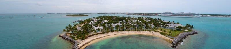 Воздушный остров Key West захода солнца изображения стоковые изображения