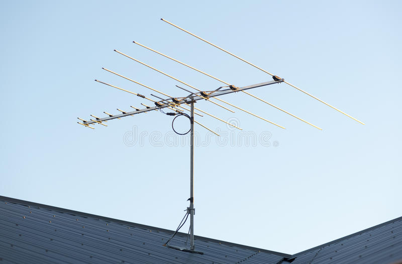 воздушный цифровой tv стоковые фотографии rf