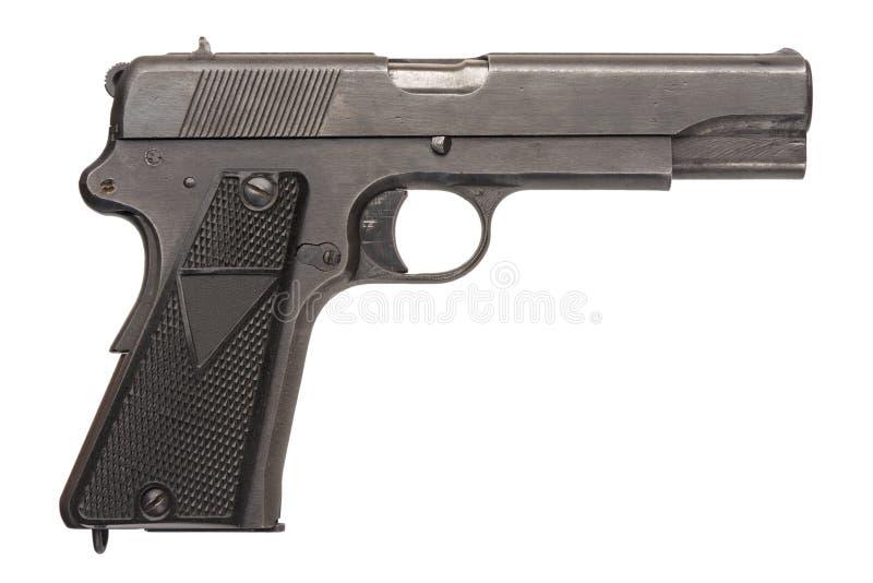 воинская заполированность пистолета стоковые изображения