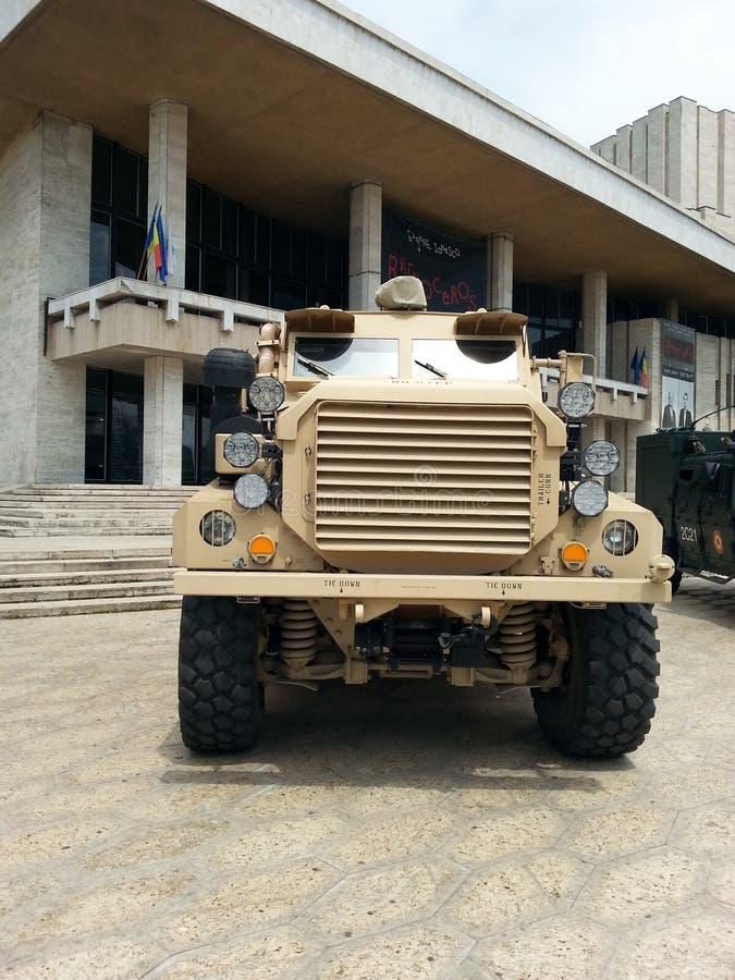 Воинская машина стоковые фотографии rf