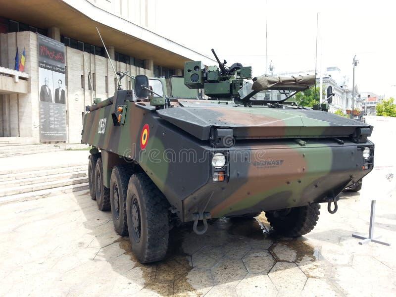 Воинская машина стоковое изображение