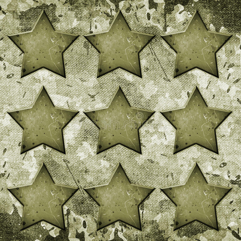 Воинская предпосылка Grunge стоковая фотография rf