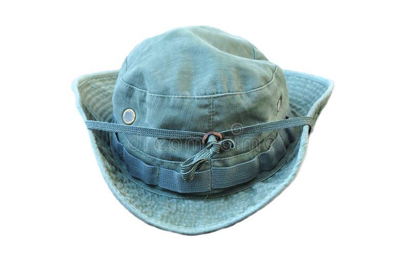 Воинская шляпа Boonie стоковые фотографии rf