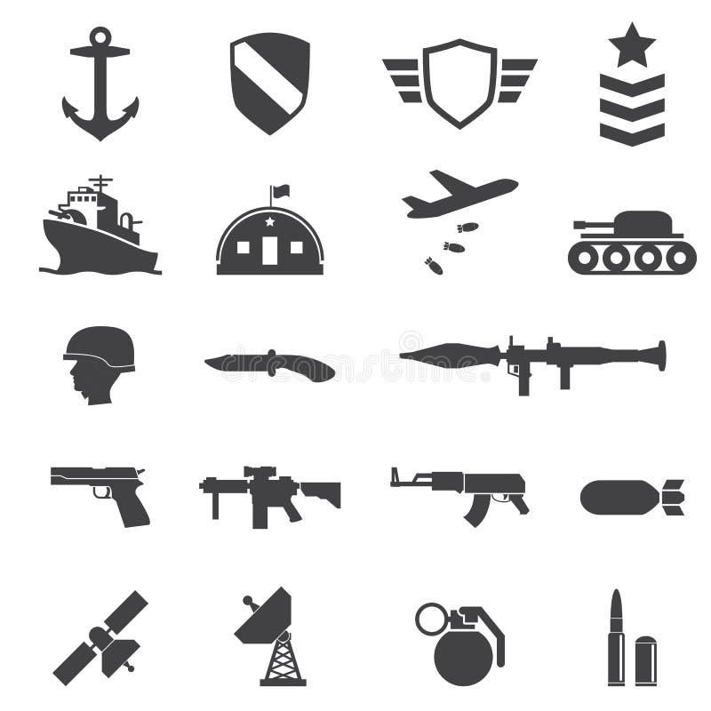 Воинские значки иллюстрация штока