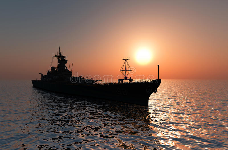 Воинский корабль бесплатная иллюстрация