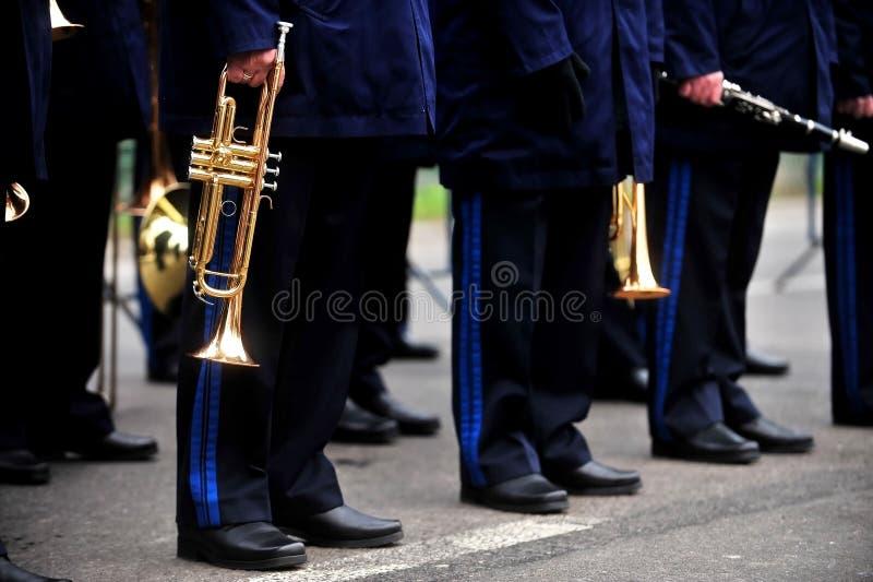 Воинский оркестр стоковые фото