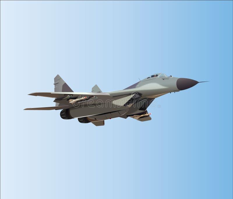 Воинский реактивный самолет стоковое фото