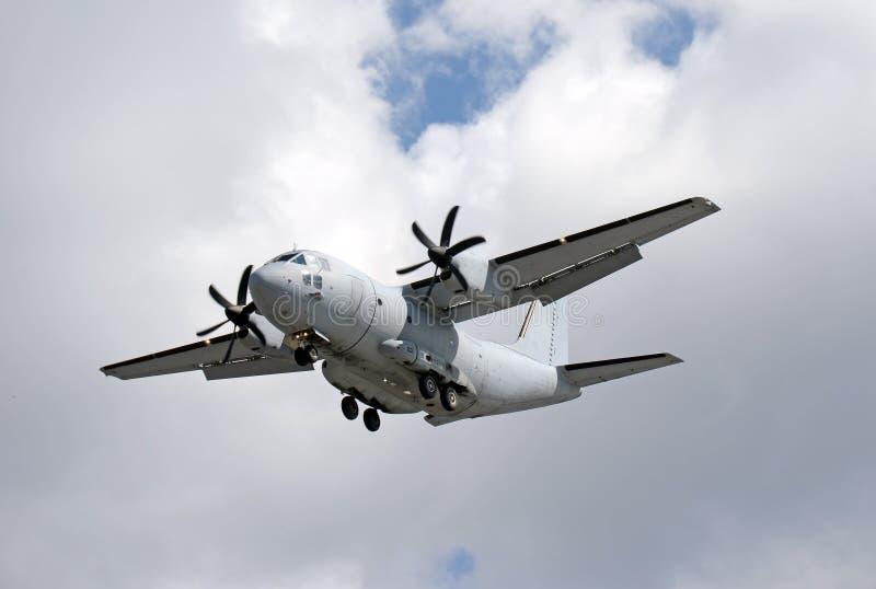 Воинский самолет груза стоковая фотография