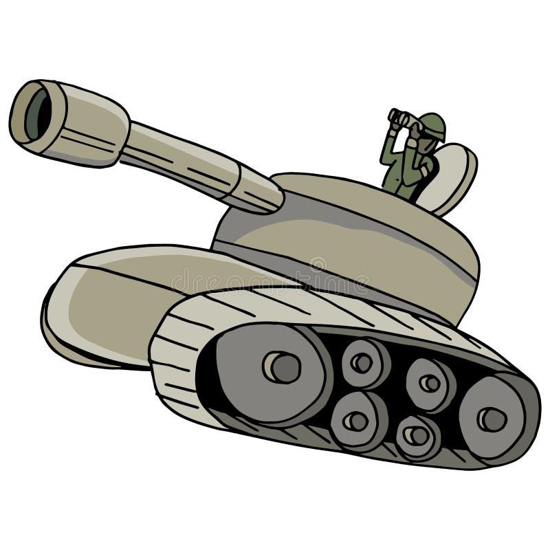 Воинский танк бесплатная иллюстрация