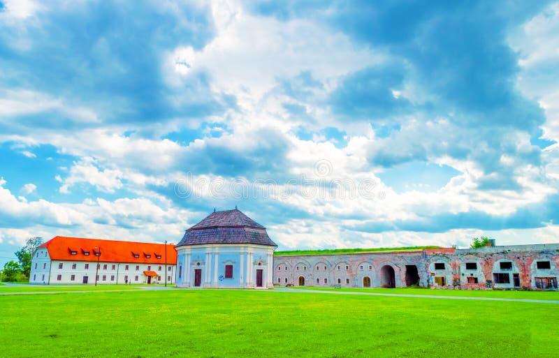 Воинский форт в Slavonski Brod стоковая фотография