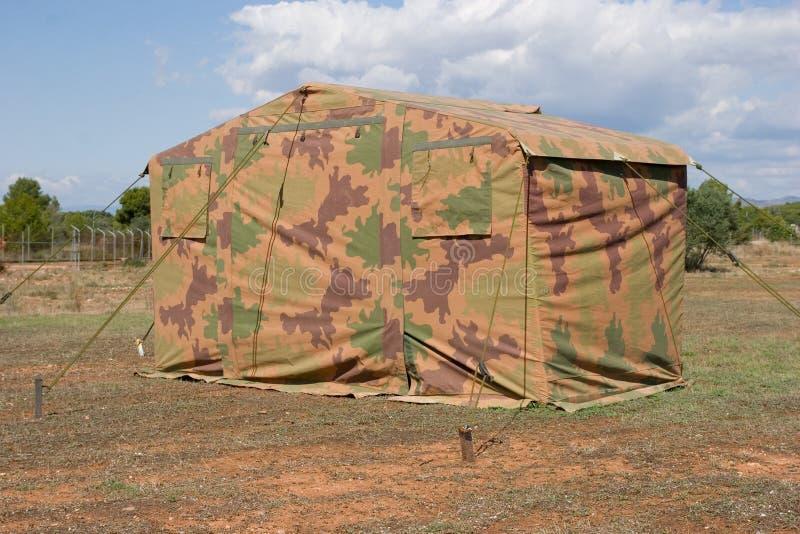воинский шатер стоковое изображение rf