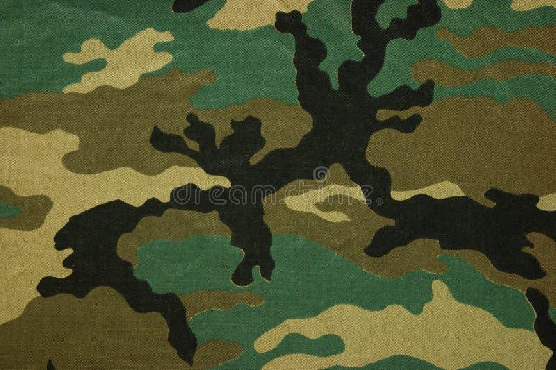 Воинское камуфлирование текстуры стоковые фото