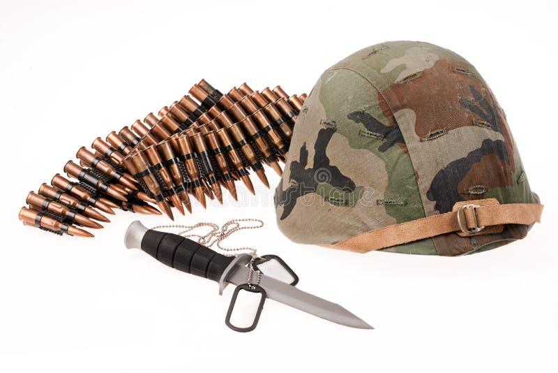 Воинское оборудование стоковое изображение rf