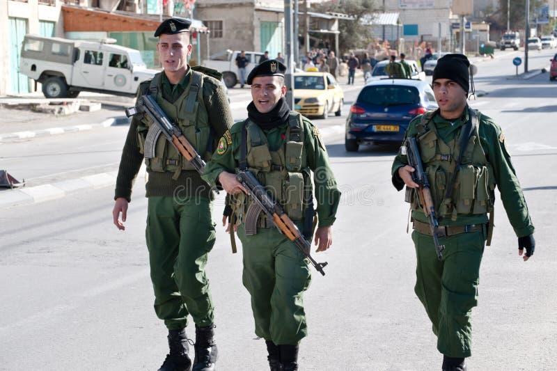 воины палестинца авторитета стоковые изображения rf
