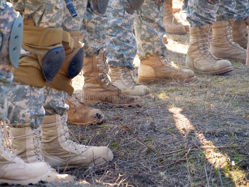 воины США стоковые фото