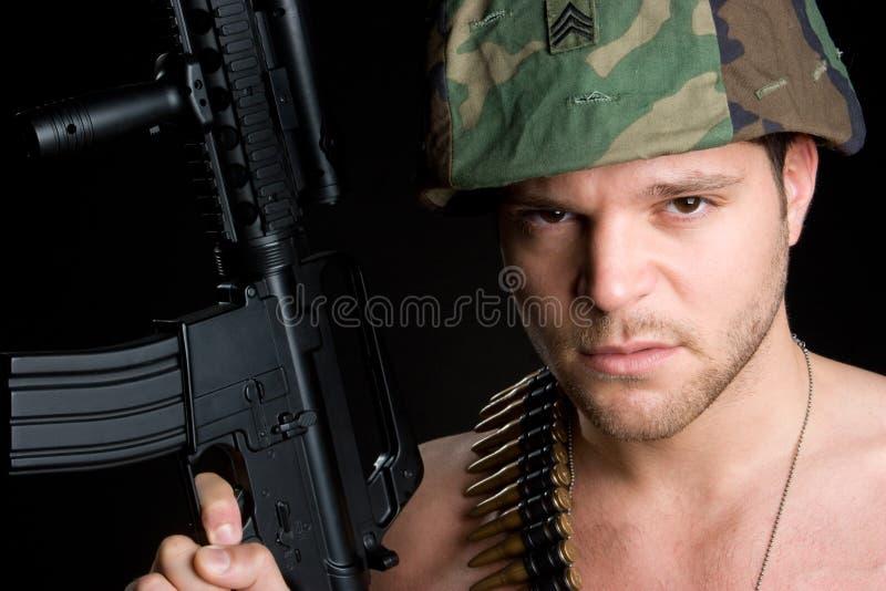 воин человека Стоковые Изображения RF