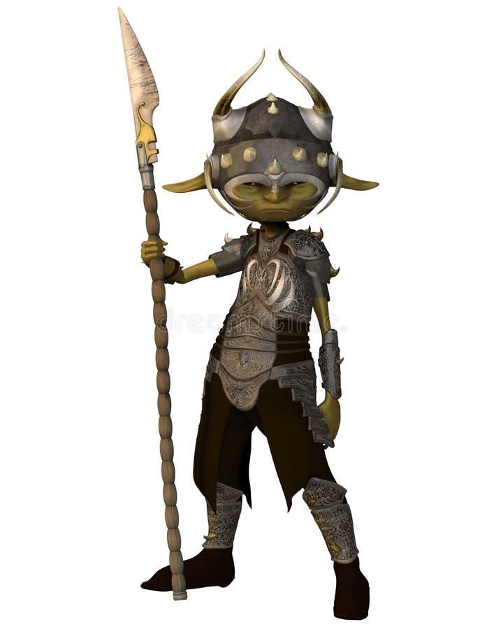 воин goblin бесплатная иллюстрация