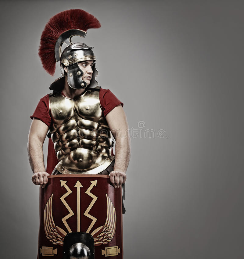 воин legionary стоковое фото rf