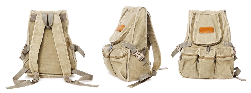 воиска backpack вводят в моду стоковая фотография