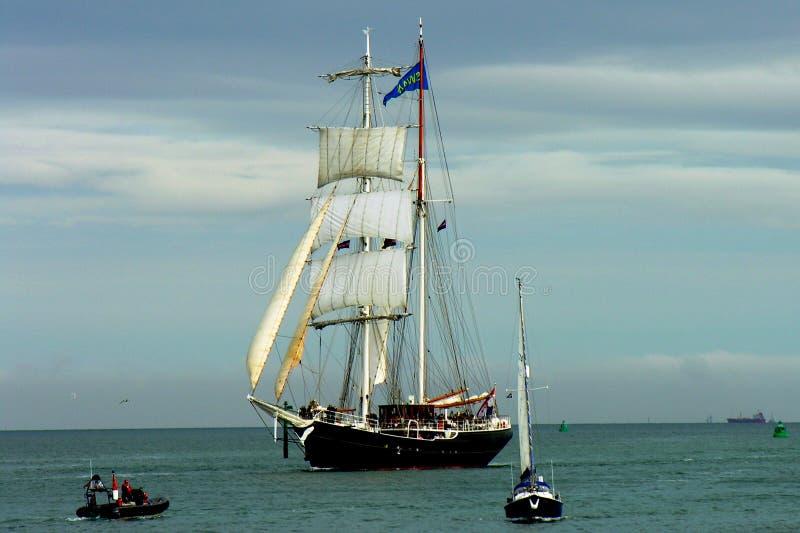 война корабля стоковая фотография