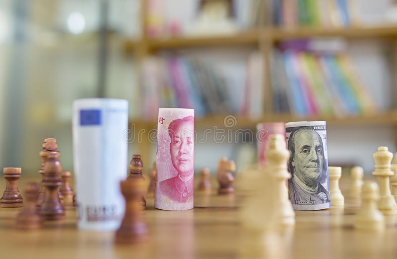 война ньютона s валюты вашгерда clicker шарика исполнительное стоковое фото rf