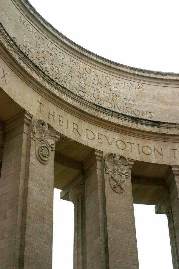 война памятника стоковое фото
