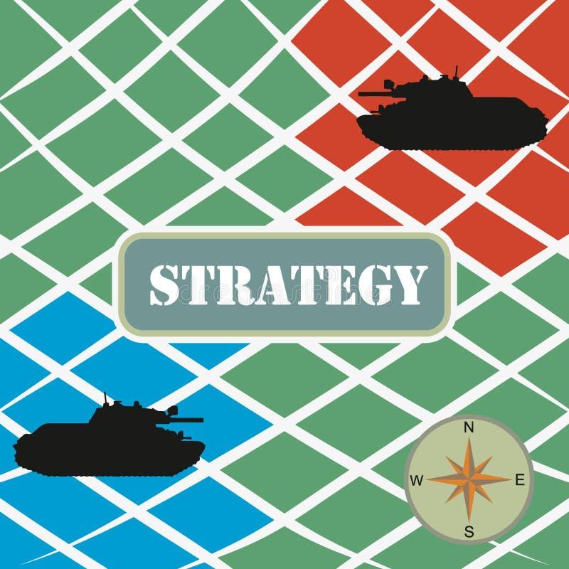 Download война стратегии иллюстрация вектора. иллюстрации насчитывающей сценарий - 17600274